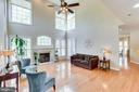 Bright and Airy Family room! - 4525 MOSSER MILL CT, WOODBRIDGE