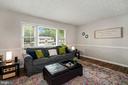 Living room - 4303 FIELDING ST, ALEXANDRIA