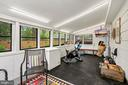 All Season Room converted to an Exercise Space - 4303 FIELDING ST, ALEXANDRIA