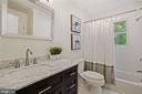 Fully Renovated Bathroom upper Level - 4303 FIELDING ST, ALEXANDRIA