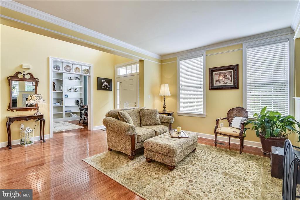 Comfortable living room - 43427 WILD DUNES SQ, LEESBURG