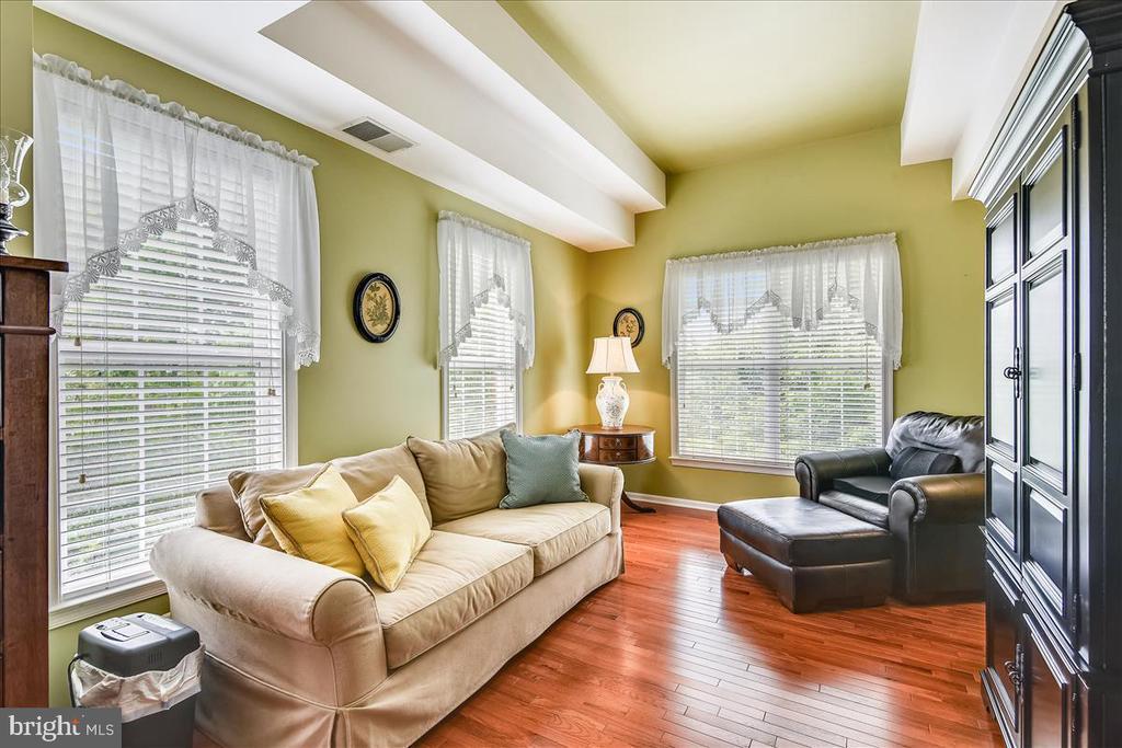 Bright sitting area off Owners suite - 43427 WILD DUNES SQ, LEESBURG