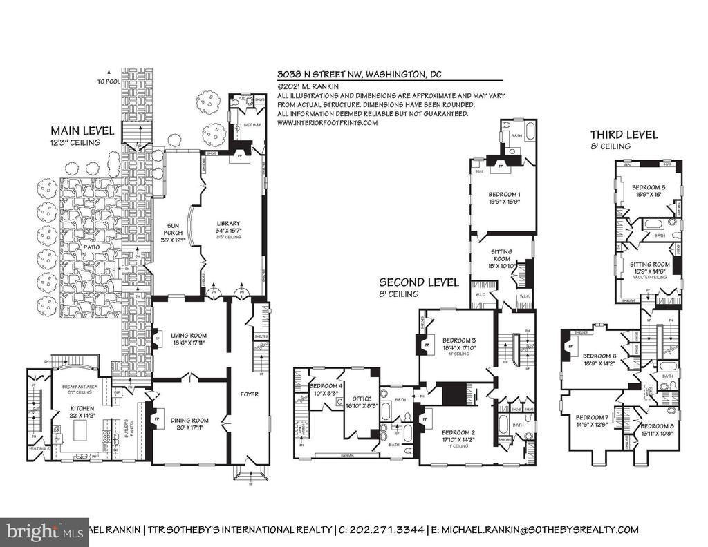 Floor Plan 1 - 3038 N ST NW, WASHINGTON