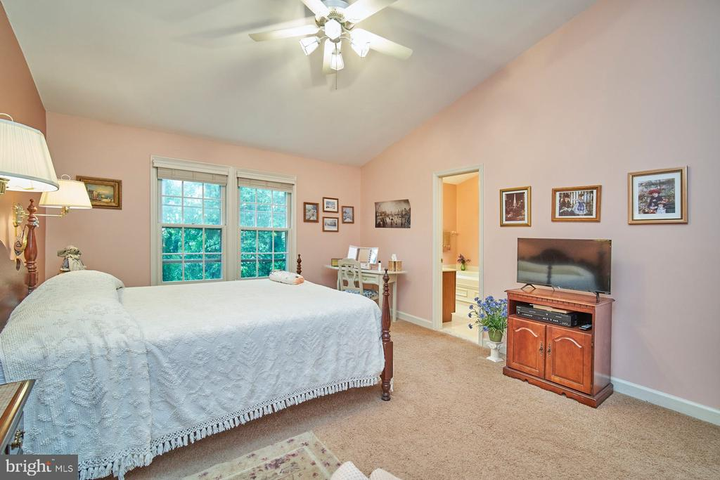 Lighted Ceiling Fan in Primary Bedroom - 6347 CROOKED OAK LN, FALLS CHURCH