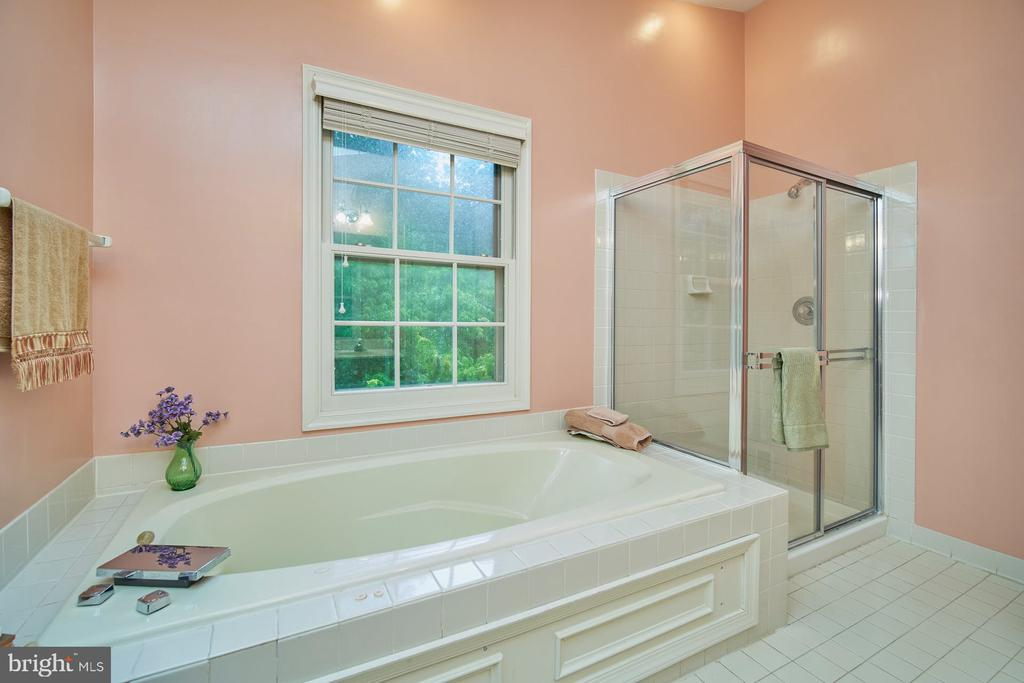 Primary Bath with Separate Tub and Shower - 6347 CROOKED OAK LN, FALLS CHURCH