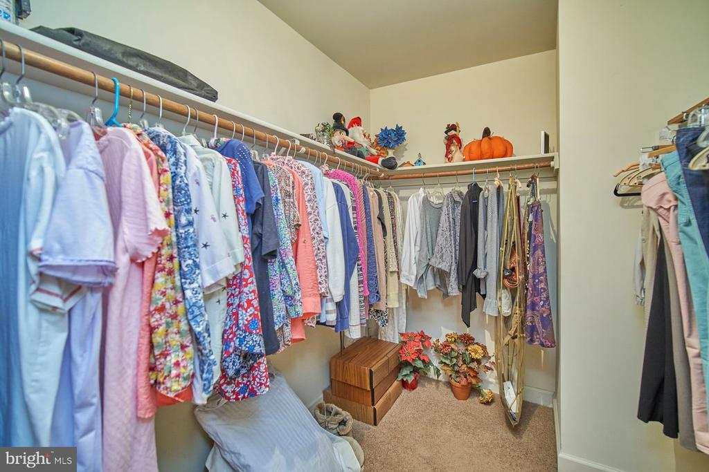 Large Walk-in Closet - 6347 CROOKED OAK LN, FALLS CHURCH