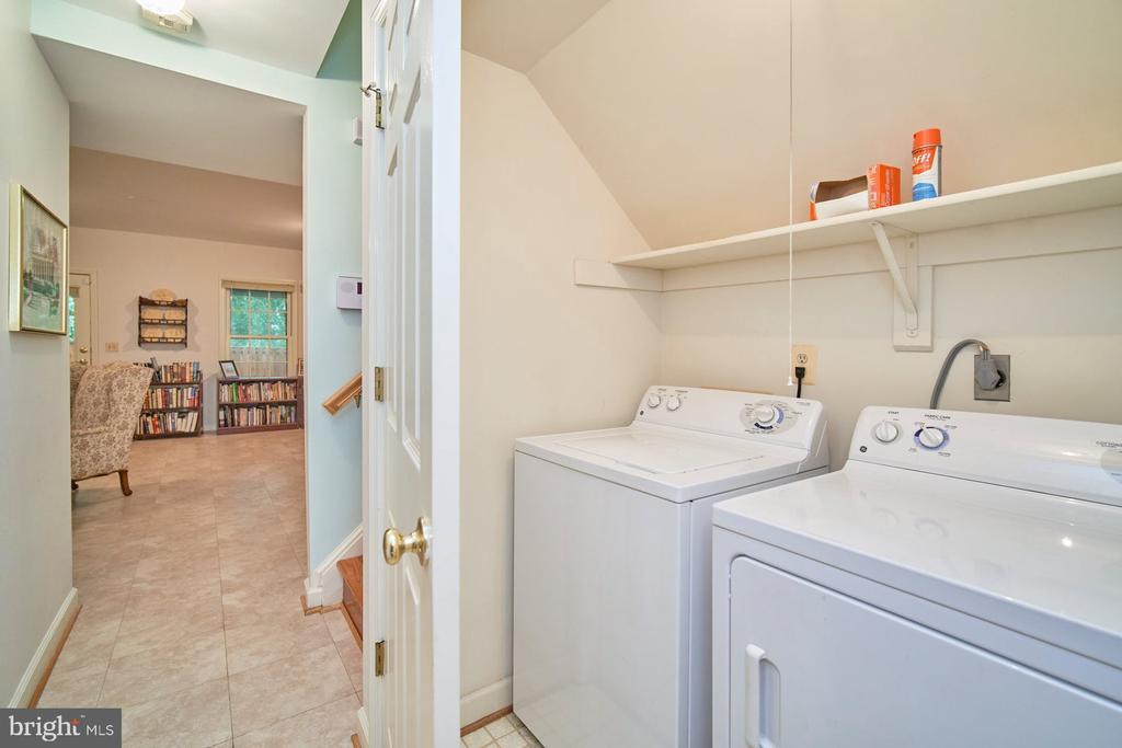 Lower Level Laundry Area - 6347 CROOKED OAK LN, FALLS CHURCH