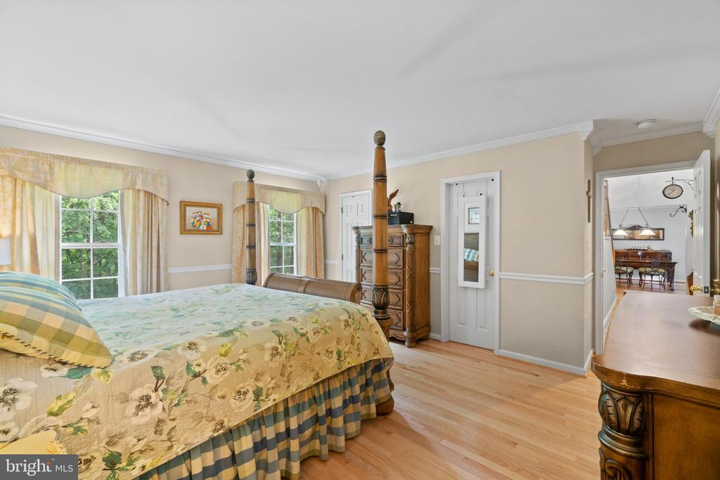 Main Level Primary Suite with 2 WIC - 17318 ARROWOOD PL, ROUND HILL