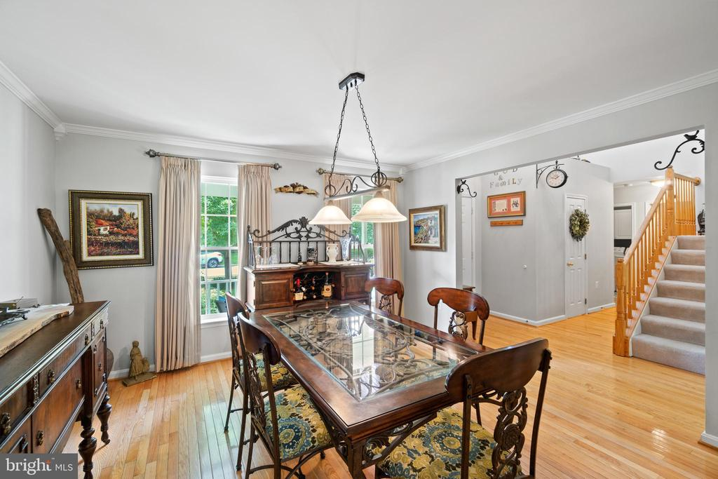Dining Room - 17318 ARROWOOD PL, ROUND HILL