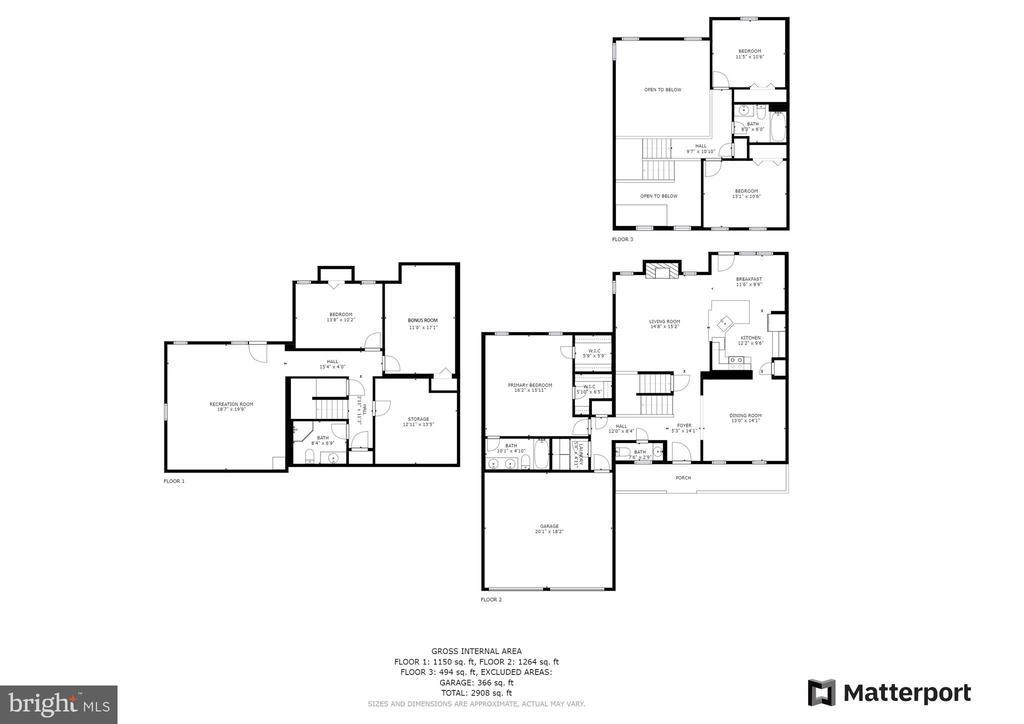 Floor Plan - 17318 ARROWOOD PL, ROUND HILL