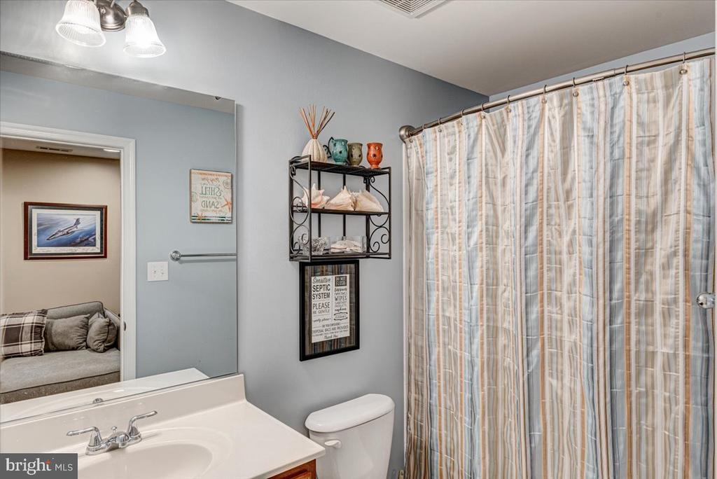 Full bath in lower level. - 26 BLOSSOM TREE CT, STAFFORD