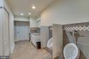 Bathroom off of Gym - 11450 QUAILWOOD MANOR DR, FAIRFAX STATION