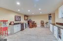 Basement Kitchen and Bar - 11450 QUAILWOOD MANOR DR, FAIRFAX STATION