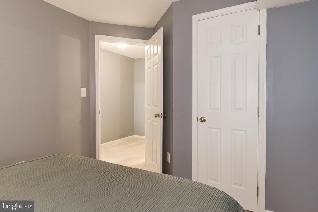Closet in Lower Level