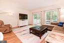 Living Room Leads to Large Deck - 1211 HERITAGE COMMONS CT, RESTON