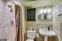 Lower LvlBathroom with Shower - 1515 STUART RD, RESTON