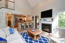 Living, Kitchen, Kitchen Bar - 16009 CARRINGTON CT, MINERAL