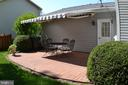 Patio with Awning - 45838 CABIN BRANCH DR, STERLING