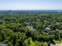 Aerial view: Potomac River, Washington Monument - 4640 CATHEDRAL AVE NW, WASHINGTON