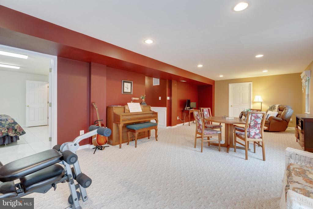Basement Rec Room - 4266 WILTSHIRE PL, DUMFRIES