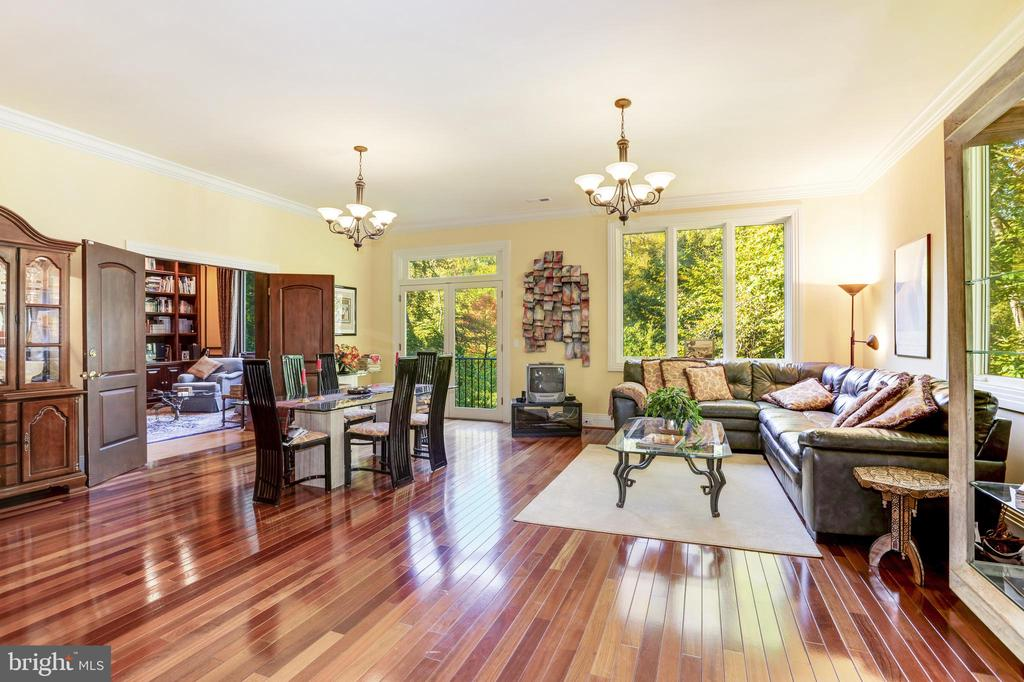 Private suite on main level ideal for in-laws - 1342 POTOMAC SCHOOL RD, MCLEAN