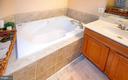 Primary en suite bath soaking tub - 5000 DONOVAN DR, ALEXANDRIA