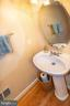 2nd level powder room for guests - 5000 DONOVAN DR, ALEXANDRIA