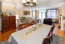 Entertaining + dining space - 5000 DONOVAN DR, ALEXANDRIA
