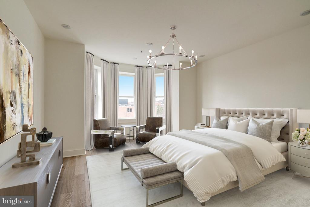 Primary Bedroom - 1737 11TH ST NW #100, WASHINGTON