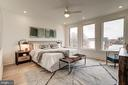 Primary Bedroom with Picture Windows - 1737 11TH ST NW ##200, WASHINGTON