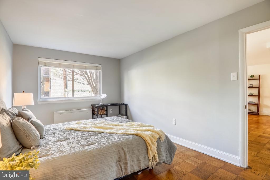 Bedroom View 2 - 4555 MACARTHUR BLVD NW #G6, WASHINGTON