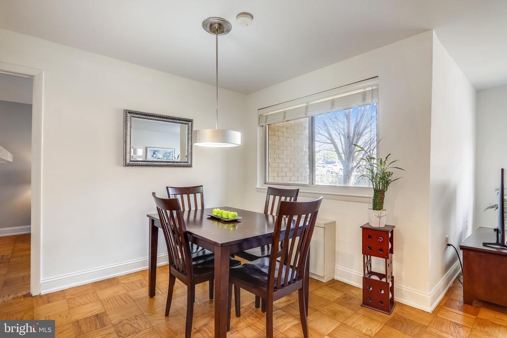 Dining Room - 4555 MACARTHUR BLVD NW #G6, WASHINGTON