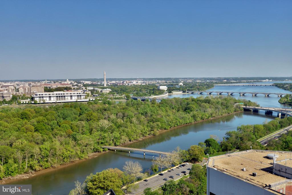View from Roof Top Terrace - 1111 19TH ST N #1603, ARLINGTON