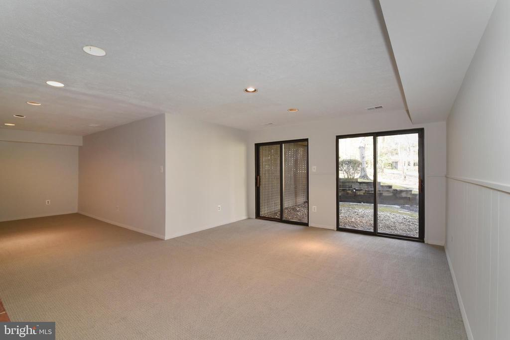 Recreation Room walkout Level - 1101 PEPPERTREE DR, GREAT FALLS