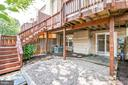 Luxurious outdoor space on two levels - 6151 BRAELEIGH LN, ALEXANDRIA