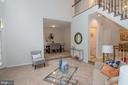 View from Living Room - 11415 HOLLOW TIMBER WAY, RESTON