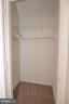 Upper Level Bedroom (#2) Walk-In Closet - 11415 HOLLOW TIMBER WAY, RESTON