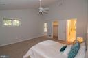 Upper Level Primary Bedroom - 11415 HOLLOW TIMBER WAY, RESTON