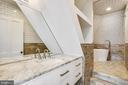4th level bathroom - 11 WIRT ST SW, LEESBURG