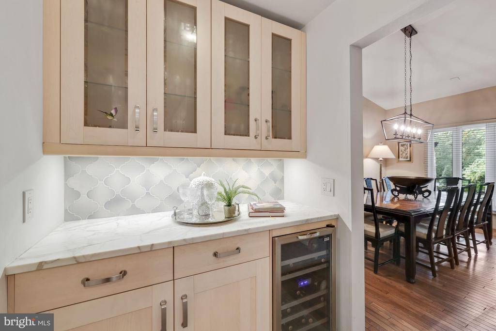 Butler's pantry is great for parties! - 3 SPRINGER, BETHESDA