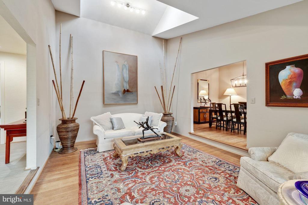 Living room with skylights - 3 SPRINGER, BETHESDA