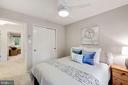 One of 4 upper level bedrooms - 3 SPRINGER, BETHESDA