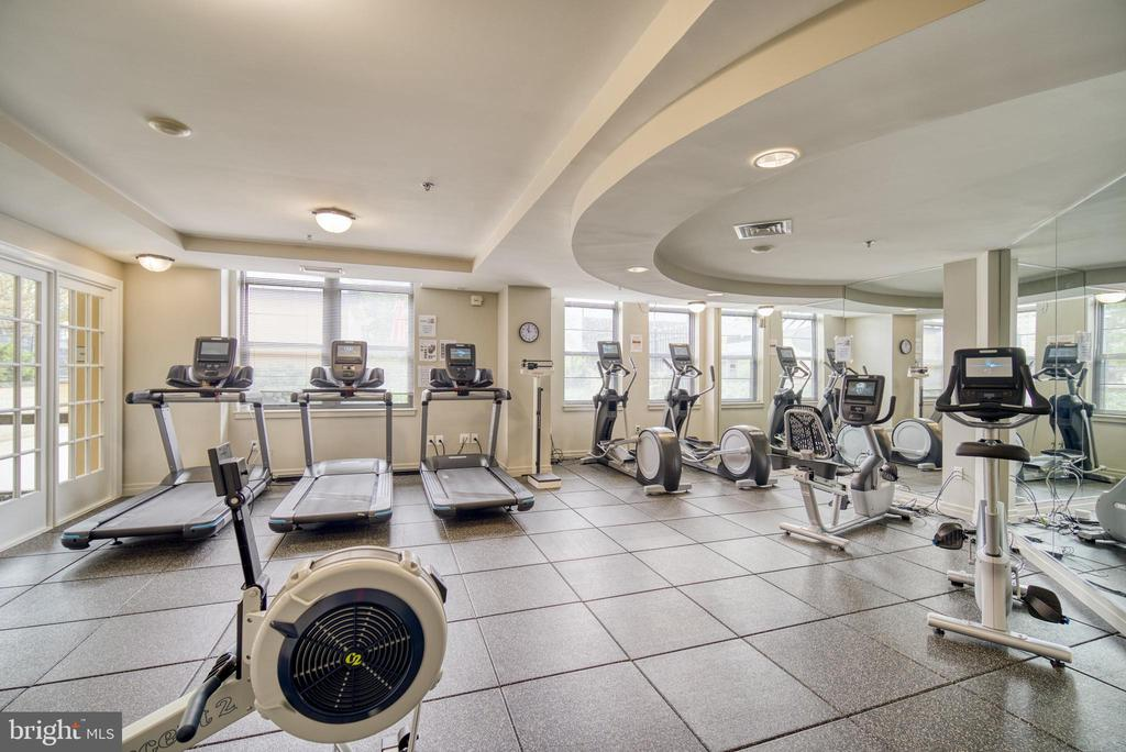 Fitness Room - 1830 FOUNTAIN DR #604, RESTON