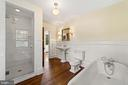 primary bath room - 20707 ST LOUIS RD, PURCELLVILLE