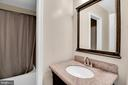 3rd level full bath - 6831 WASHINGTON BLVD #D, ARLINGTON