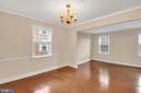 Dining room - 6831 WASHINGTON BLVD #D, ARLINGTON