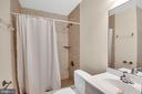 Full bath with walk-in shower - 6831 WASHINGTON BLVD #D, ARLINGTON