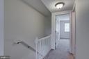 Staircase / upstairs hallway - 1435 N VAN DORN ST #B, ALEXANDRIA