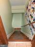 From kitchen STAIRWAY  to basement - ,XTRA PANTRY - 12101 FOUNTAIN DR, CLARKSBURG