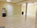 COMPLETELY FINISHED basement - CERAMICS - 12101 FOUNTAIN DR, CLARKSBURG